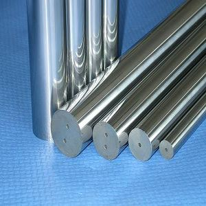 tungsten carbide sintered rods with two straight coolant hole